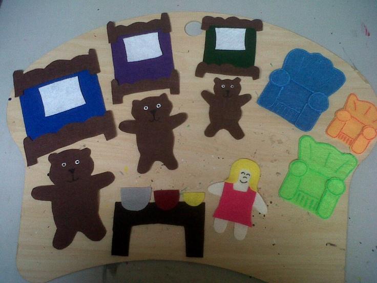 Goldilocks & The Three Bears $10.00