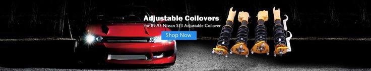 NISSAN S13 Silvia 240SX 180SX 200SX Adjustable Coilover Shock Absorber Coil Strut Suspension Kit