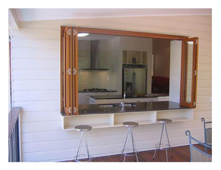 kitchen servery window - Google Search