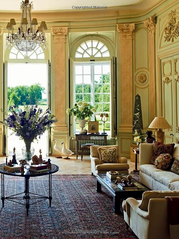 Chateau du Grand Luc Decorating a Great French