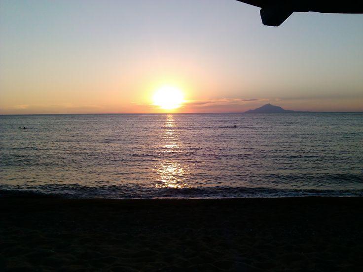 Myrina sunset LIMNOS ISLAND GREECE photo by Electra Koutouki 2014