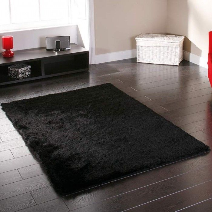 Sable Black Rugs Are Very Thick Ultra Soft Silky And Handmade In China