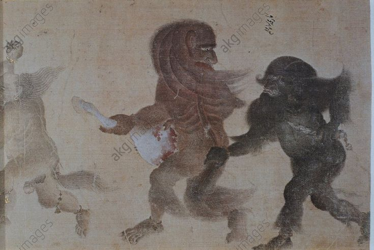 Siyah Kalem / Deux démons