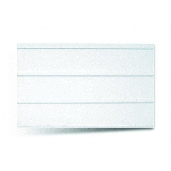 Вагонка ПВХ трехсекционная 241 белый