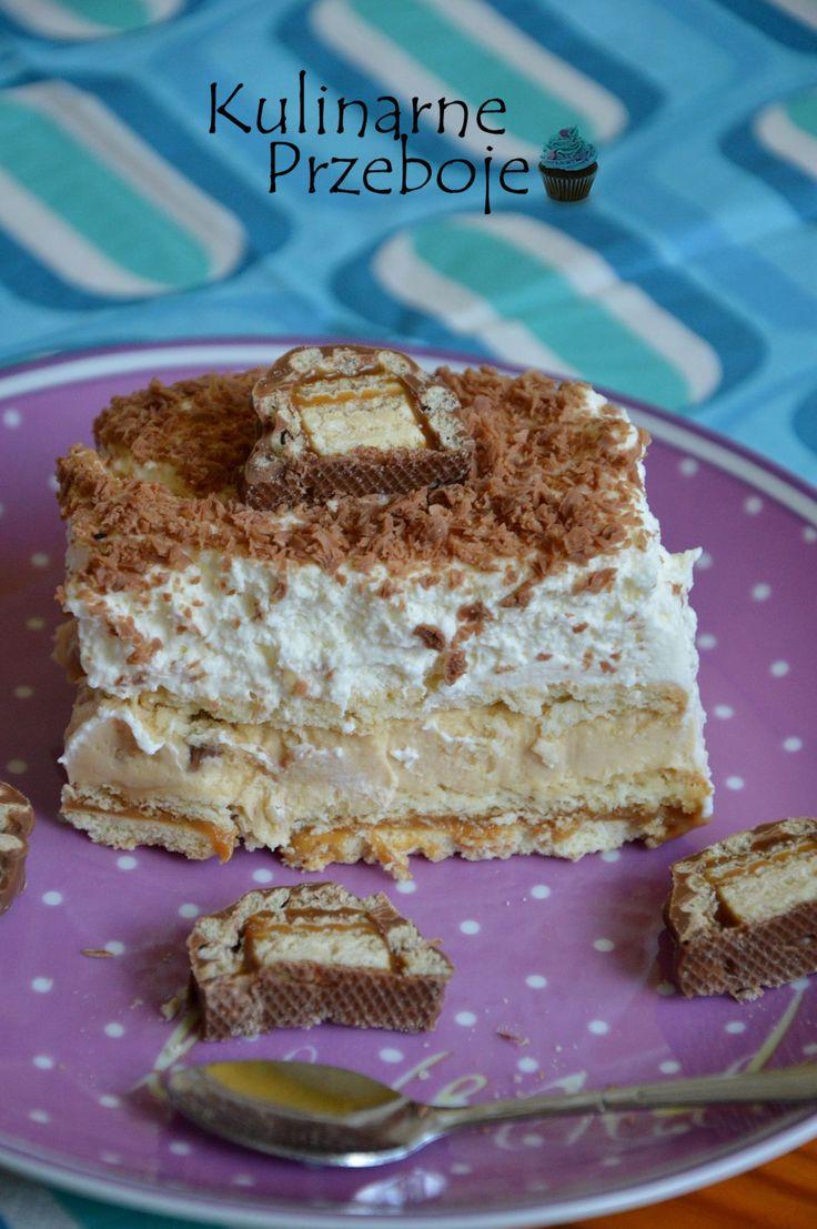 Ciasto Lion to kolejne ciasto do kolekcji w kategorii 'bez pieczenia'. Połączenie słodkiego kajmaku, batoników Lion oraz bitej śmietany na pewno zdobędzie serca miłośników słodkości :) Inspirowałam się Zjem to , lecz proporcje ciasta są moje, a gorzką czekoladę zamieniłam na mleczną. Ciasto jest bardzo szybkie w wykonaniu, więc może skusicie się i zrobicie je […]
