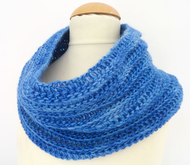 Snood crochet version 2 Crochet / Tricot Libertylle Pinterest