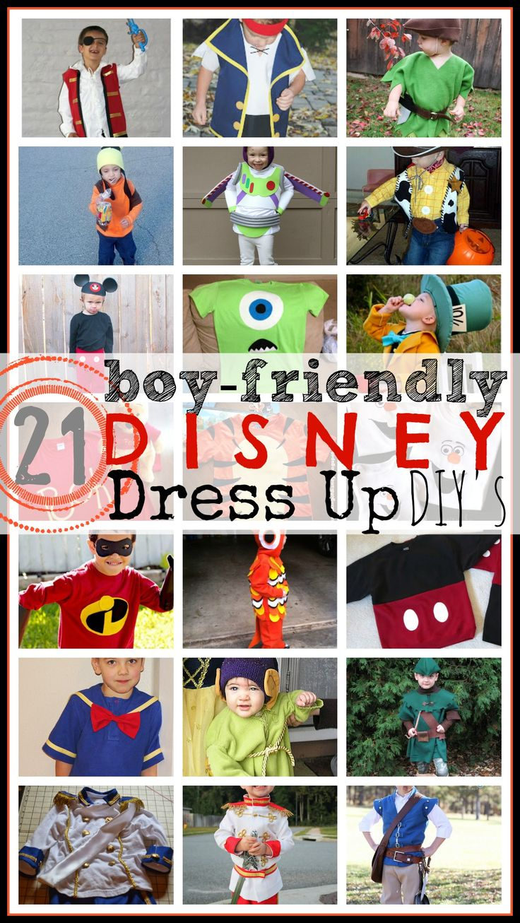 10 characters you can dress up as this halloween page 3 - 21 Boy Friendly Disney Dress Up Diy S