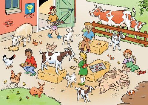Vertelplaat kinderboerderij