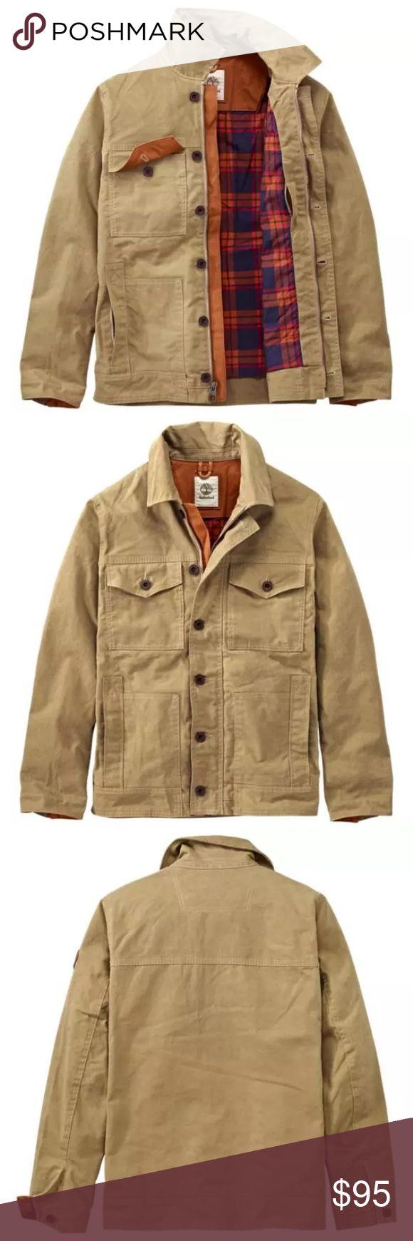 Timberland wax jacket Timberland men's wax jacket Timberland Jackets & Coats Lightweight & Shirt Jackets