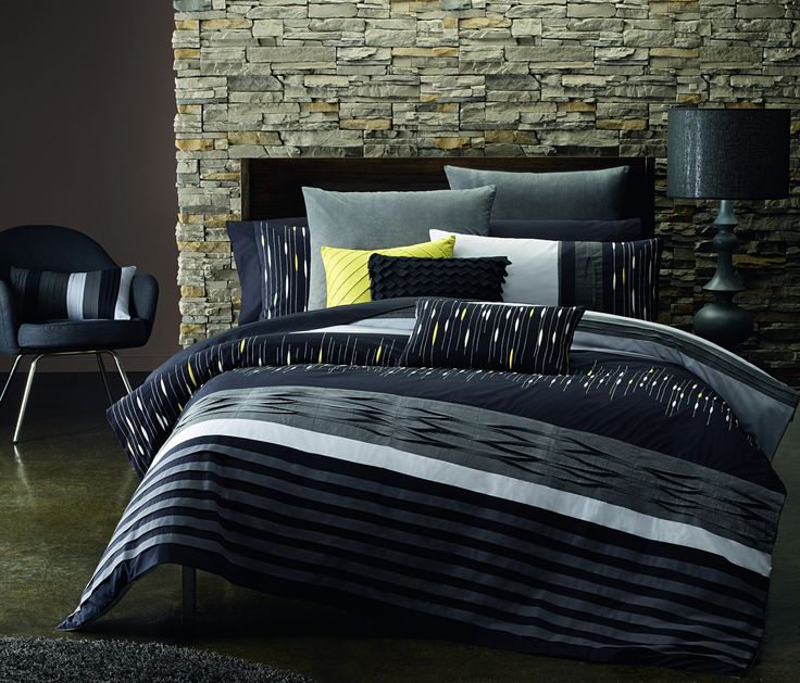 Zuri Quilt Cover Set by Lux - love this!  http://www.manchesterwarehouse.com.au/bed/quilt-covers/lux-zuri-quilt-cover-sets