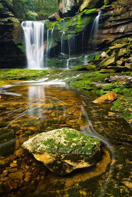 Elakala Falls, West Virginia @ www.jaypatelphotography.com/gallery/light-and-color