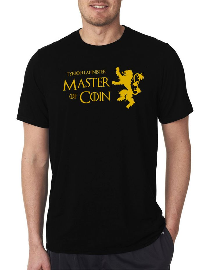 Tyrion Lannister Master Of Coin Game Of Thrones Men's T Shirt Size S-XXL