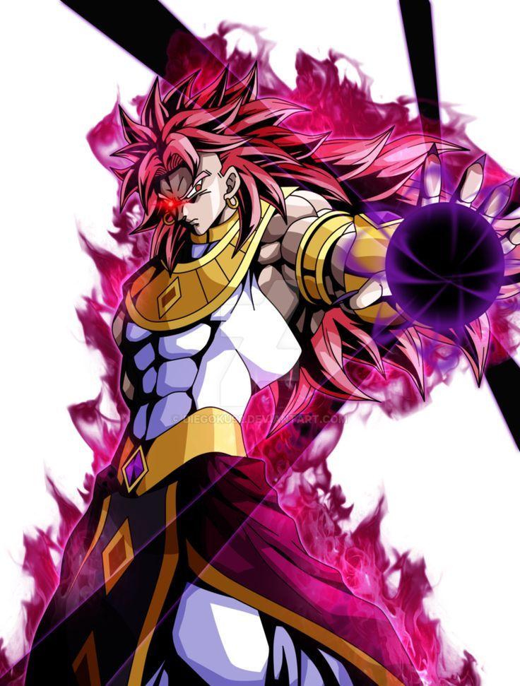 Legendary Monster Dragon Ball Artwork Dragon Ball Art Anime