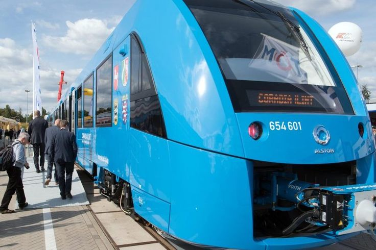 Germany Will Get Worlds First Hydrogen-Powered Trains in 2021