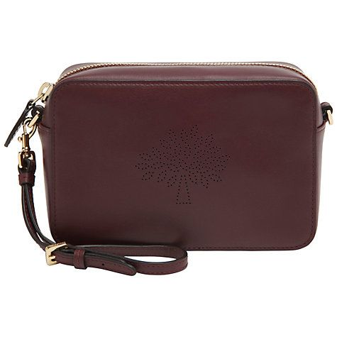 2bdd7ee83e ... best price mulberry blossom pochette leather bag with strap oxblood  10a9e fc5f7