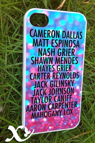 magcon boys members  iPhone 4/4s/5/5c/5s Case  Samsung by KALIDORO, $15.00