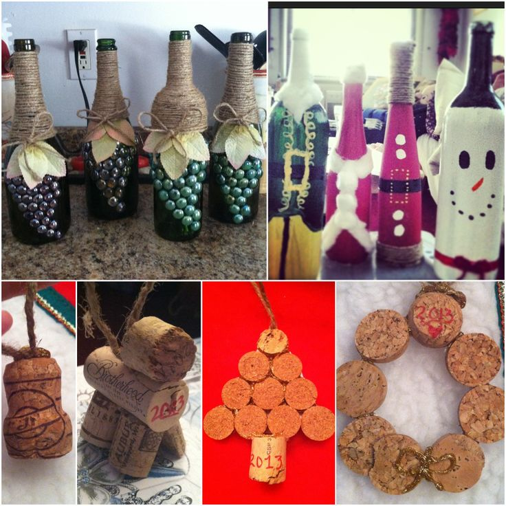 Wine bottle cork crafts mainly christmas upcycle for Crafts with corks from wine bottles