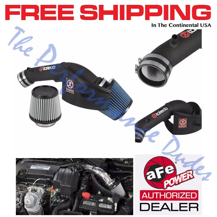 aFe Power TR-1019B Takeda Stage-2 Cold Air Intake System for Honda Accord
