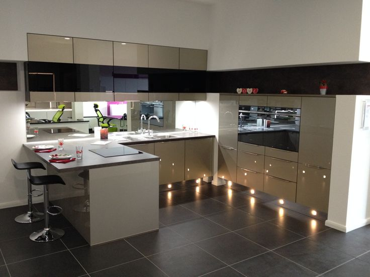 Luxury High Gloss Kitchens Pictures With Resolution