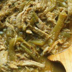 Chicken Chile Verde (Pollo Con Chile Verde)