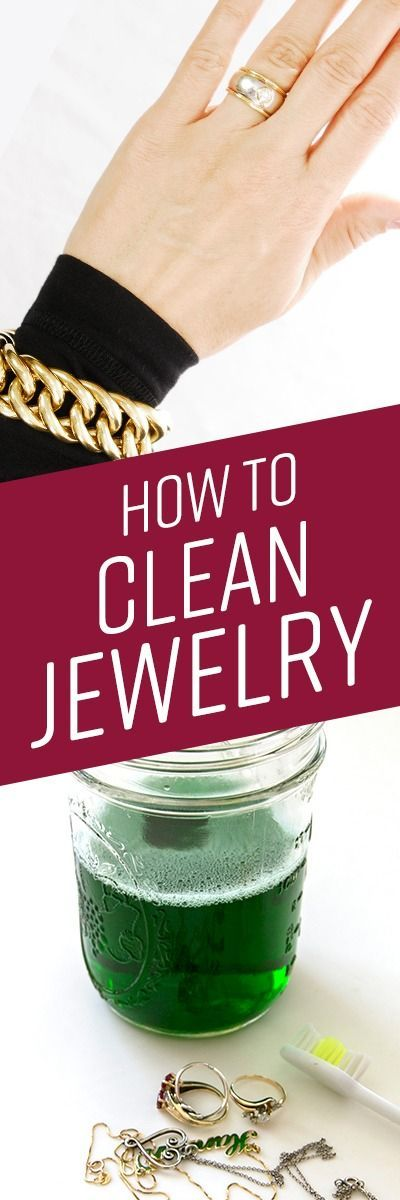 Oil from your skin, body lotions, perfumes, and makeup, as well as everyday dirt, can accumulate over time and make metals and stones appear dingy and flat. Jewelry can be expensive, so it's important that you take good care of it. Many DIY jewelry cleaners contain slightly abrasive ingredients, such as baking soda, or harsh soaps and detergents.
