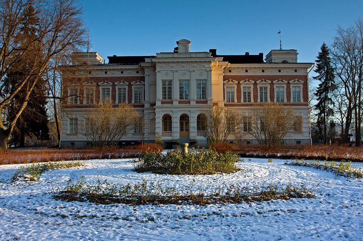 Hatanpää Manor House Tampere Arboretum Finland 9227