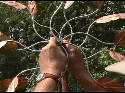 How to Assemble a Wind Sculpture - Copper Wind Sculpture Assembly - Kinetic Wind Sculptures