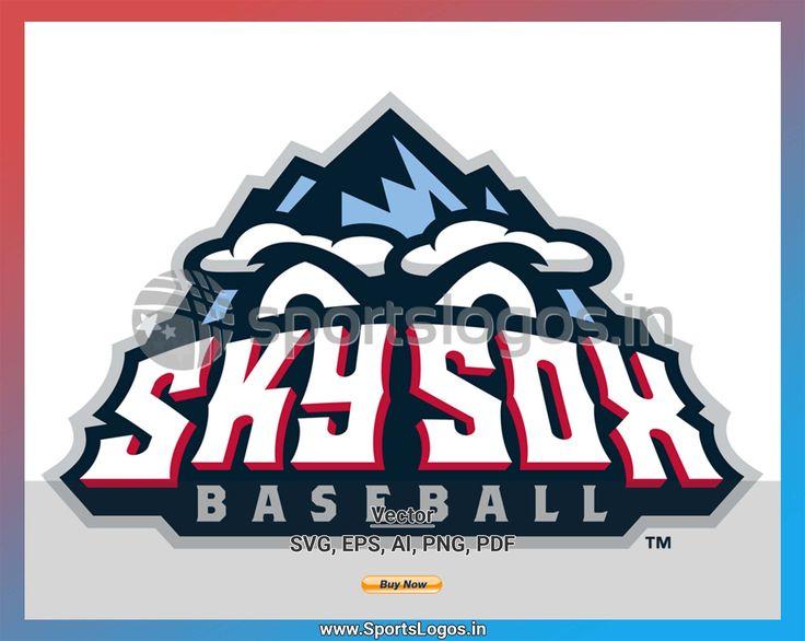 Colorado Springs Sky Sox - Baseball Sports Vector SVG Logo ...