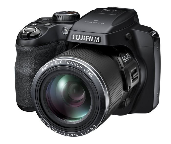 Fujifilm FinePix 16 MP Digital Camera With LCD Black Optical Zoom Full HD Movie Capture X Approx EVF Wireless Connectivity Smartphones