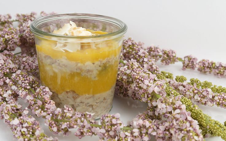 Vanillepudding Porridge - Viele schwören auf Porridge zum Frühstück. Ist ja auch so richtig lecker Doch mit Pudding wird das Ganze noch cremiger  und hält uns sogar noch länger satt.