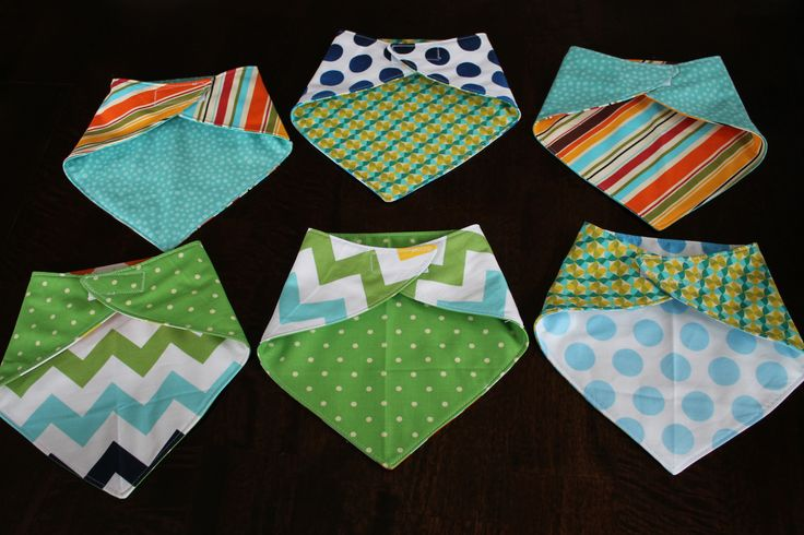 Fat Quarter Friday: Reversible Bandana Bib