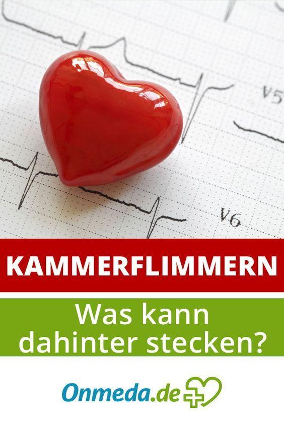 Kammerflimmern (Herzflimmern) - akute Lebensgefahr