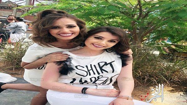 رنا سماحة وماريتا الحلاني تتحضران لكأس العالم على طريقتهم الخاصة Women Fashion T Shirts For Women