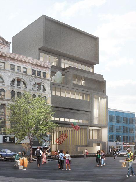 David Adjaye designs new home for Harlem's Studio Museum.