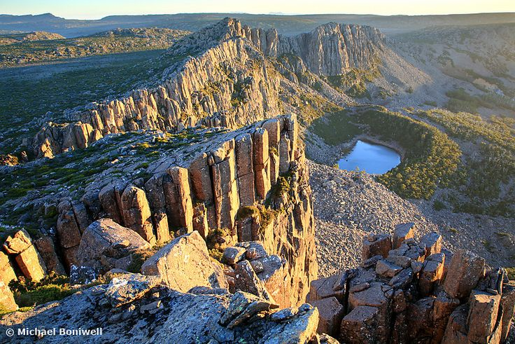 Ben Lomond at Dawn, Tasmania, Australia