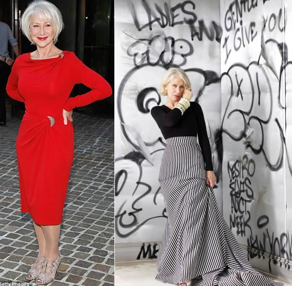 Helen Mirren Style Icon She Is The Definition Of Beauty