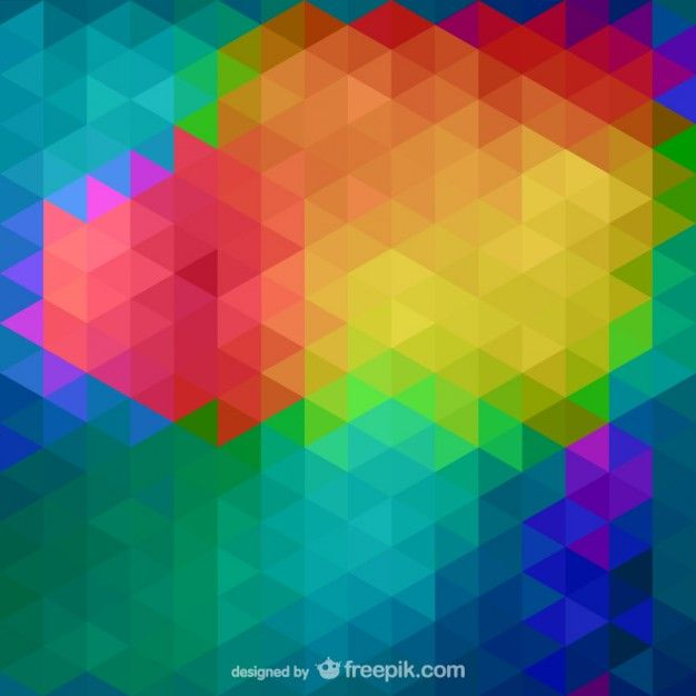 Background abstract triangle