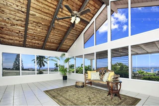Enjoy this spacious Pearlridge home with huge multi-function living areas that take advantage of the spectacular Pear Harbor and coastline views.