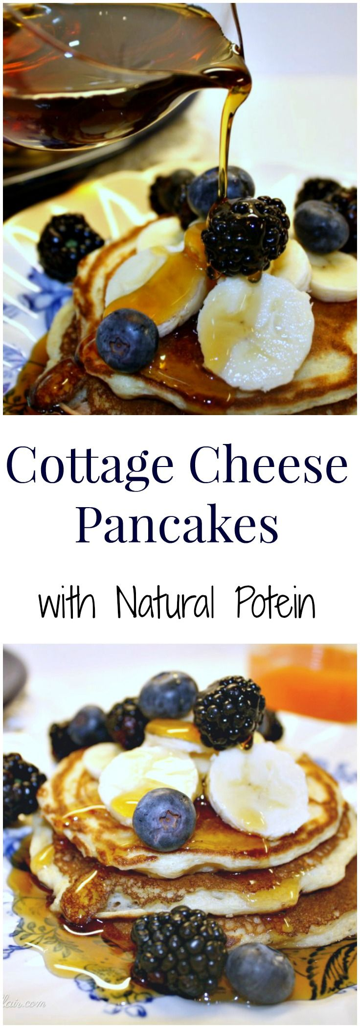 Cottage Cheese Pancakes | Recipe | Cottages, Cottage cheese and ...