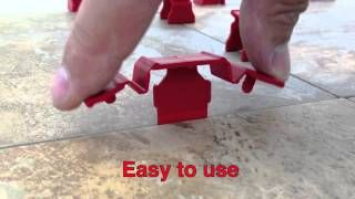 Tuscan SeamClip™ Promo 2014 - The Fastest Tile Leveling system ever made - YouTube