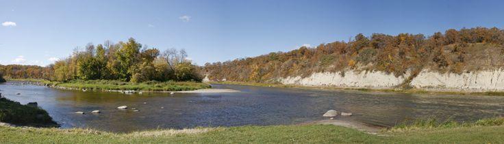 Red Lake Falls Panorama