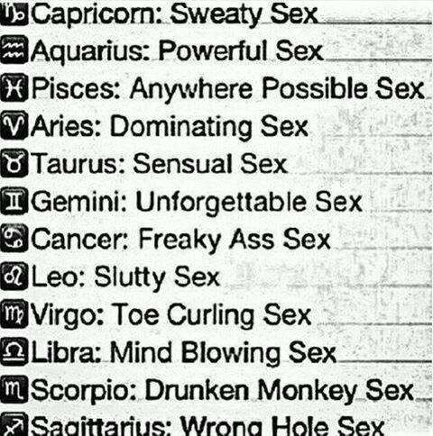 Zodiac Signs And Sex 104