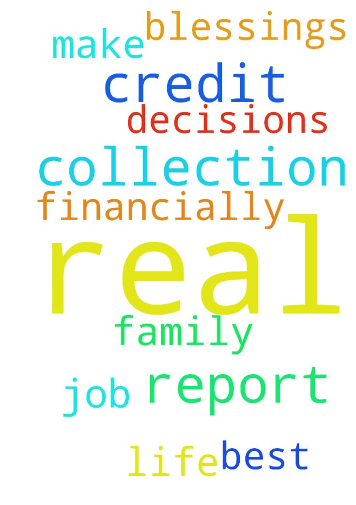I pray this is not a real collection on my credit report!! - I pray this is not a real collection on my credit report!! I pray God's help financially!   I pray Lord you help me make the best decisions for my life and family! Help me on this job!! Blessings to all!! Amen  Posted at: https://prayerrequest.com/t/jBu #pray #prayer #request #prayerrequest
