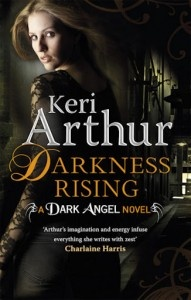 Keri Arthur is one of my favorite authors. She writes in urban fantasy and although I have not read any of the Darkness books, I love the Riley Jensen series!