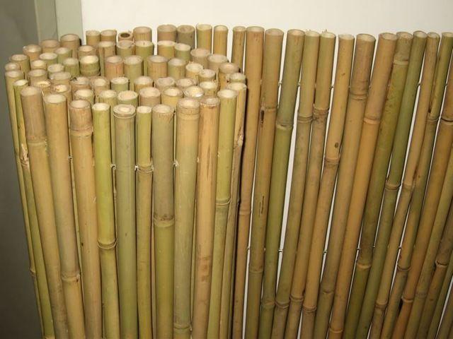 Cerca de bambu-em Cercas, treliças e portões de Construções para jardins em m.portuguese.alibaba.com.