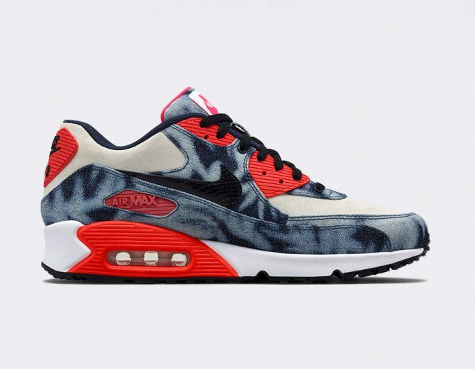 #Nike Air Max 90 QS - Washed Denim #sneakers