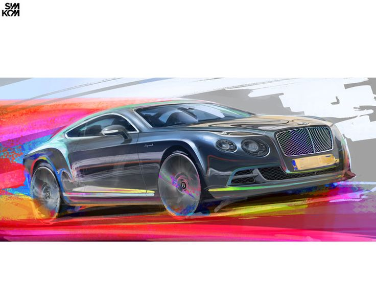Bentley sketch