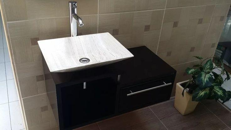 Muebles De Baño Economicos Lavabo De Marmol Moderno Giovanna - $ 5,160.45 en…