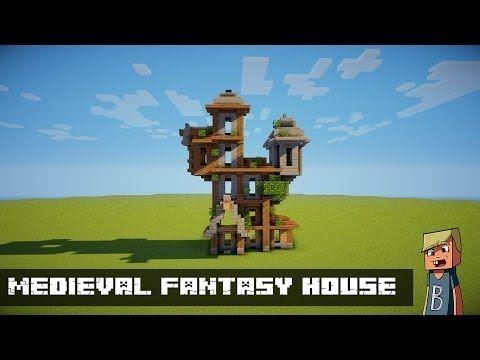 Строим Minecraft Medieval Fantasy House [PART 3] Videos 4 ...