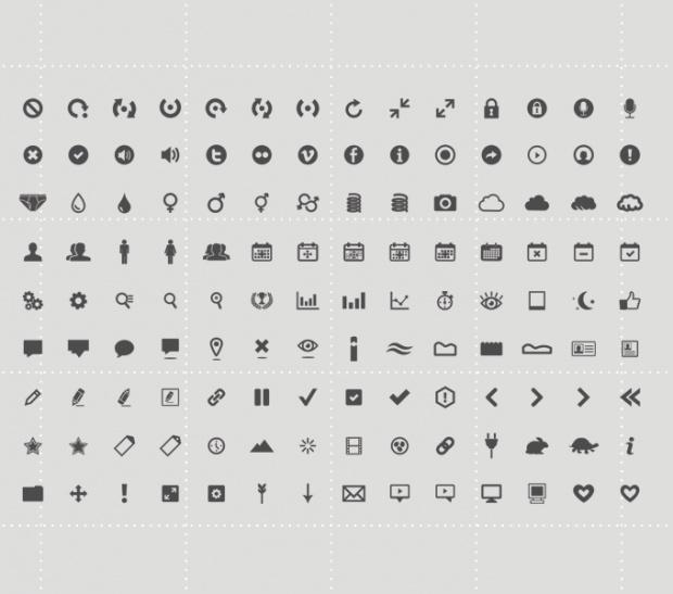 126 #Icon Set, #AI, #EPS, #Free, #PDF, #PSD, #Resource, #Vector